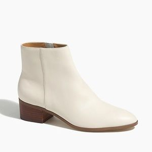 J. Crew Walker Leather Ankle Boots Size 8